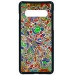 Pop Art - Spirals World 1 Samsung Galaxy S10 Seamless Case(Black)