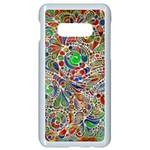Pop Art - Spirals World 1 Samsung Galaxy S10e Seamless Case (White)