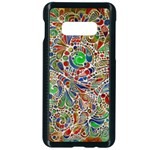 Pop Art - Spirals World 1 Samsung Galaxy S10e Seamless Case (Black)