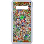 Pop Art - Spirals World 1 Samsung Galaxy S10 Plus Seamless Case(White)