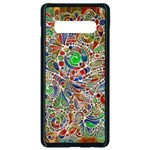 Pop Art - Spirals World 1 Samsung Galaxy S10 Plus Seamless Case (Black)