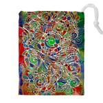 Pop Art - Spirals World 1 Drawstring Pouch (4XL)