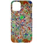 Pop Art - Spirals World 1 iPhone 11 Pro Black UV Print Case