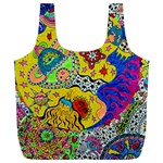Supersonicplanet2020 Full Print Recycle Bag (XL)