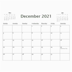 2021 Calendar Mix By Lisa Minor Dec 2021
