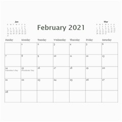 2021 Calendar Mix By Lisa Minor Feb 2021