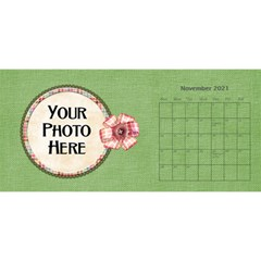 2021 Sml 11x5 Calendar By Lisa Minor Nov 2021