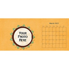 2021 Sml 11x5 Calendar By Lisa Minor Mar 2021