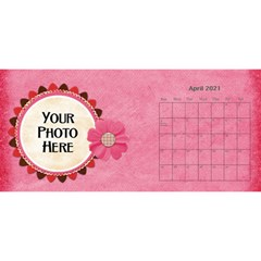 2021 Sml 11x5 Calendar By Lisa Minor Apr 2021