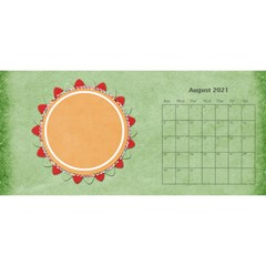 2021 Sml 11x5 Calendar By Lisa Minor Aug 2021