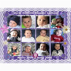 Calendario 2 By Ana   Wall Calendar 11  X 8 5  (12 Months)   8c8y2izih880   Www Artscow Com Month