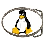 Tux Linux Hacker custom Belt Buckle