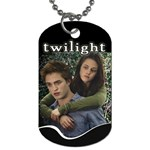 Twilight Edward & Bella Dog Tag (Two Sides)