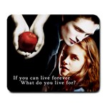Twilight Apple In Hand Large Mousepad