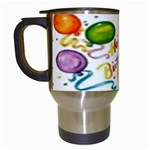 Happy Birthday Travel Mug (White)