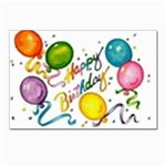 Happy Birthday Postcards 5  x 7  (Pkg of 10)
