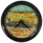 Vincent_Van_Gogh_0019 Wall Clock (Black)