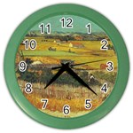 Vincent_Van_Gogh_0019 Color Wall Clock