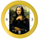 Mona_Lisa Color Wall Clock