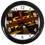 1000-Cubes-1-1024x768 Wall Clock (Black)