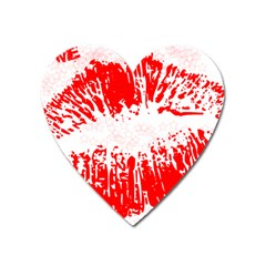 kiss2 Magnet (Heart) by liyafendi