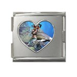 450336643fkoPTd_ph Mega Link Heart Italian Charm (18mm)