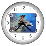 450336643fkoPTd_ph Wall Clock (Silver)