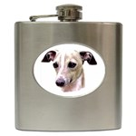 Italian Greyhound ^ Hip Flask (6 oz)