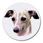 Italian Greyhound ^ Round Mousepad