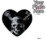 Skull And Daggers ^ Playing Cards 54 (Heart) from ArtsNow.com Front - Spade2
