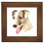 Jack Russell Terrier ^ Framed Tile