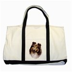 Collie ^ Two Tone Tote Bag