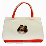 Collie ^ Classic Tote Bag (Red)