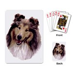 Collie ^ Playing Cards Single Design