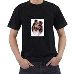 Collie ^ Black T-Shirt
