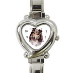 Collie ^ Heart Italian Charm Watch