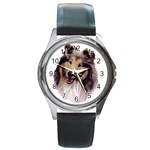 Collie ^ Round Metal Watch