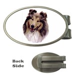 Collie ^ Money Clip (Oval)