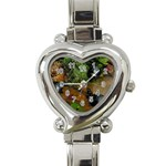 Baby Turtles Heart Italian Charm Watch