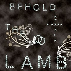 Behold The Lamb ScrapBook Page 12  x 12   by VictoriaGreyh