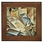 Juan_Gris_-_Portrait_of_Picasso Framed Tile