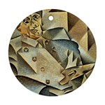 Juan_Gris_-_Portrait_of_Picasso Ornament (Round)