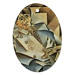 Juan_Gris_-_Portrait_of_Picasso Ornament (Oval)