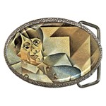 Juan_Gris_-_Portrait_of_Picasso Belt Buckle