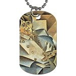 Juan_Gris_-_Portrait_of_Picasso Dog Tag (Two Sides)