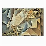 Juan_Gris_-_Portrait_of_Picasso Postcard 4 x 6  (Pkg of 10)