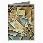 Juan_Gris_-_Portrait_of_Picasso Greeting Card