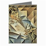 Juan_Gris_-_Portrait_of_Picasso Greeting Cards (Pkg of 8)