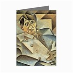 Juan_Gris_-_Portrait_of_Picasso Mini Greeting Card