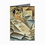Juan_Gris_-_Portrait_of_Picasso Mini Greeting Cards (Pkg of 8)